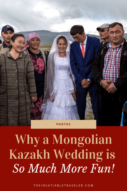 Why a Mongolian Kazakh Wedding is so Much More Fun