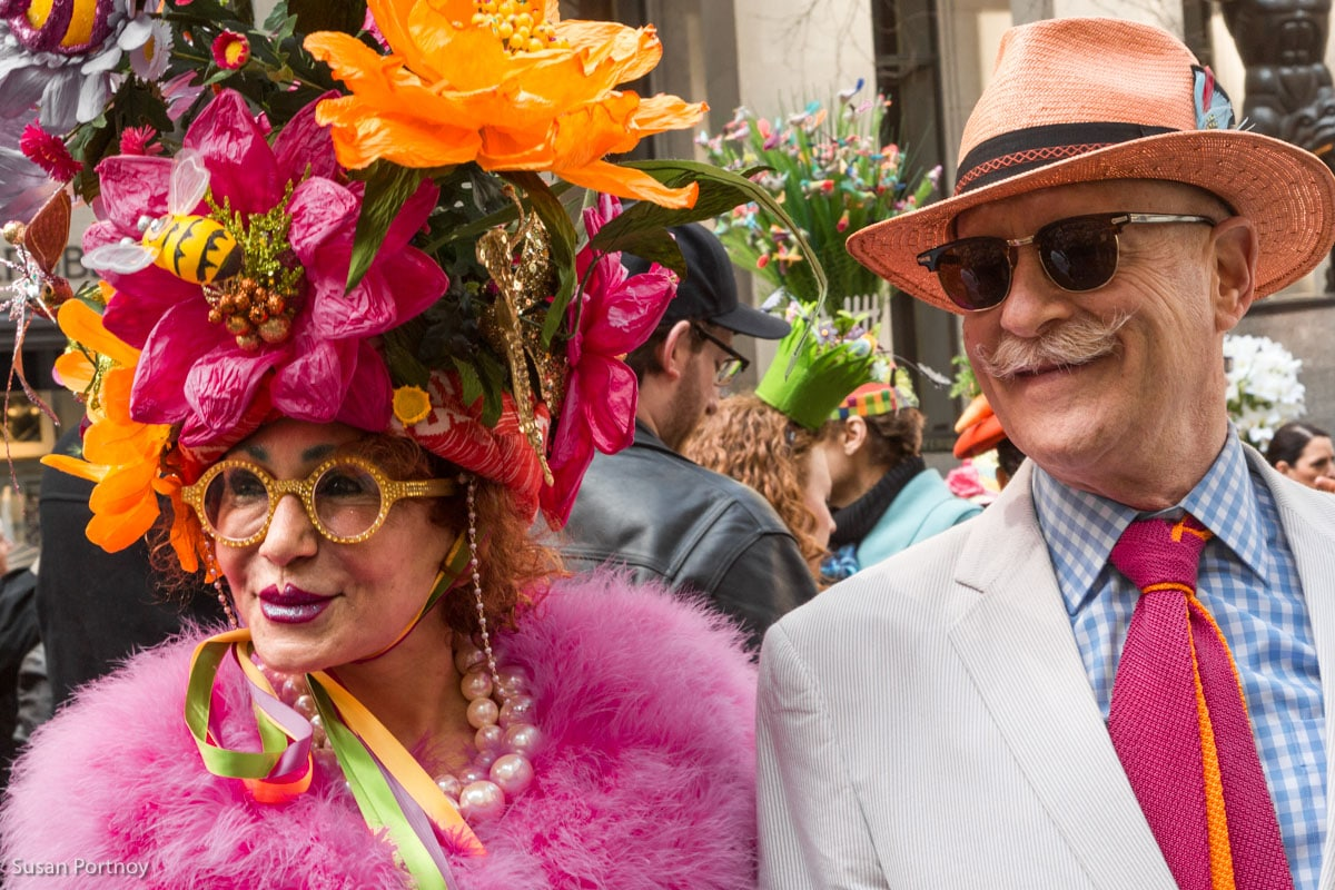 Celebrating the NYC Easter Parade and Easter Bonnet Festival