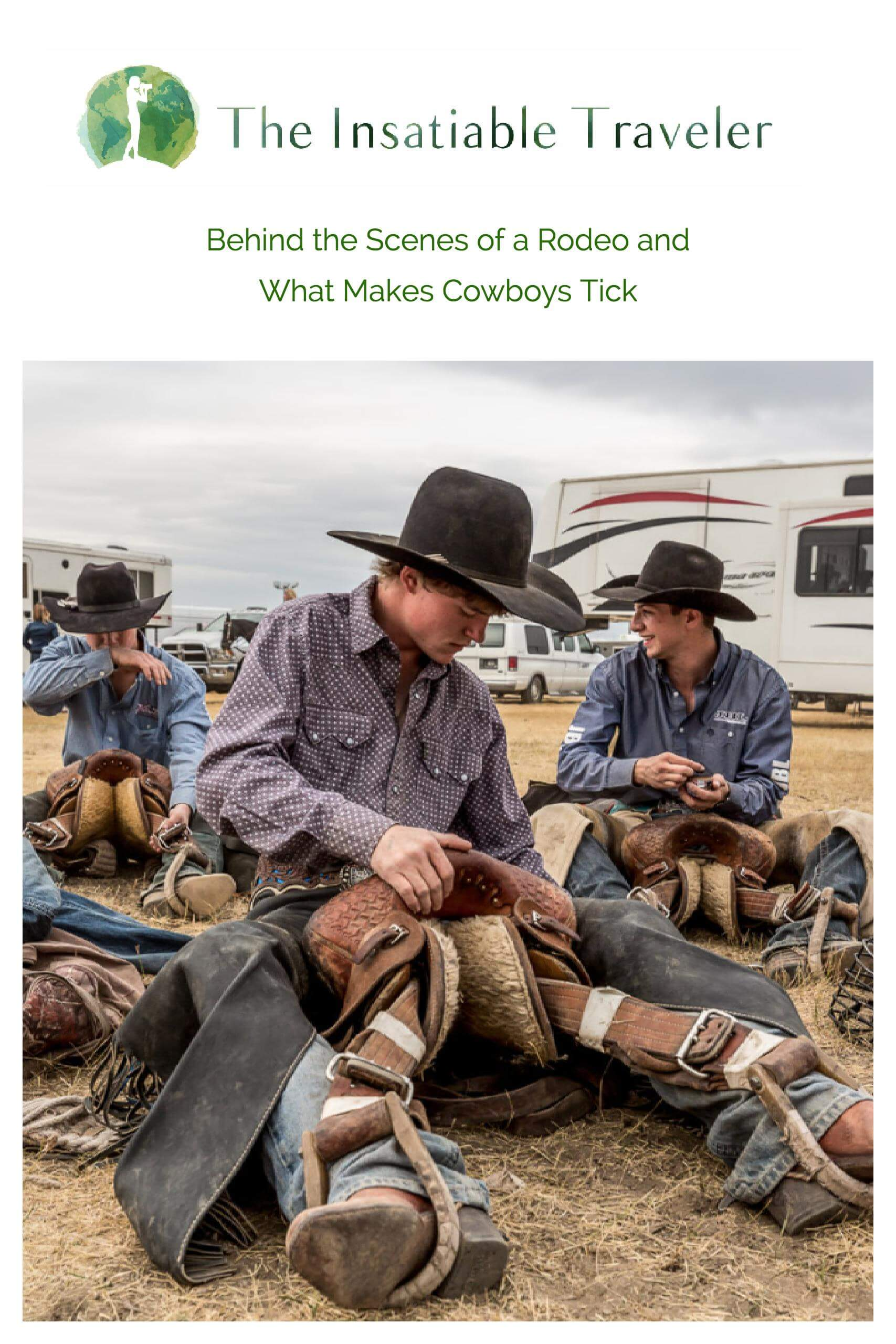 Behind the Scenes of a Rodeo and What Makes Cowboys Tick --Backstage at the Lethbridge Bucking and Barrels Rodeo in the Canadian Badlands, Cowboys tell me about the dangers, the highs, and why they love it.