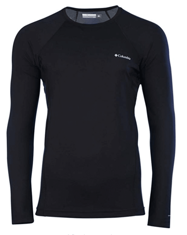 Columbia Omni-Heat Men's Midweight Stretch Baselayer Long Sleeve Shirt