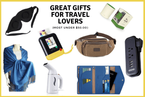 Great gifts for travel lovers -Header