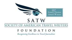 Lowell Thomas Award winner -logo