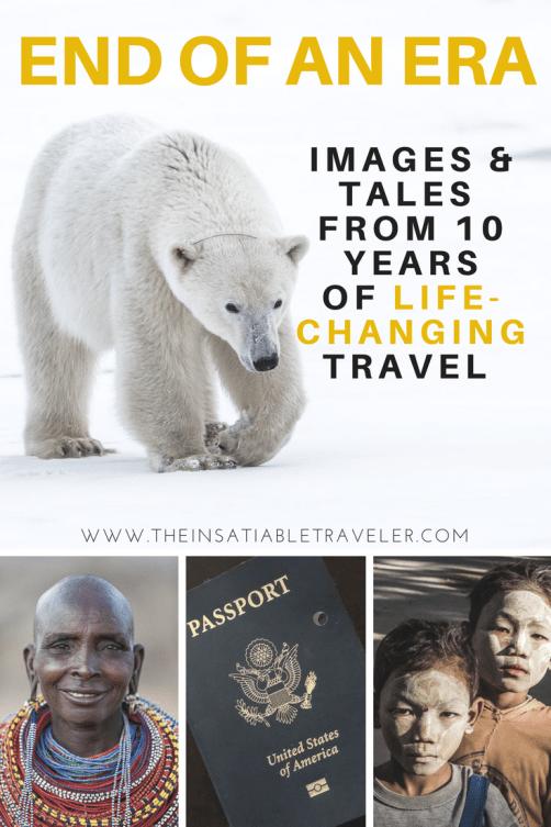 As my passport expired it reminded me of 10 years of life-changing travel. #Peru #Canada #Thailand #Laos #Cambodia #Kenya #Tanzania #SouthAfrica #Botswana #Namibia #Morocco #Belize #Bhutan #Myanmar