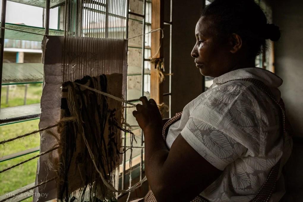 Heron at Nanyuki Weavers & Spinners - - How to Experience More Beyond Kenya's Big Five