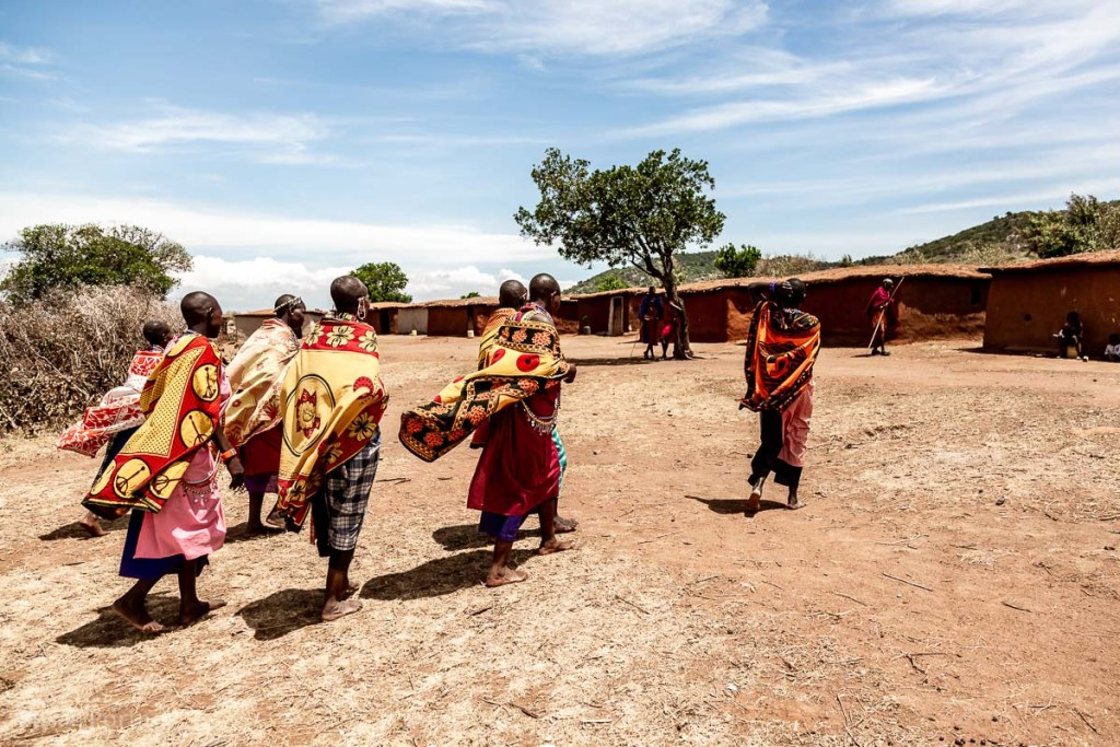 Maasai women in their manyatta - How to Experience More Beyond Kenya's Big Five -8448
