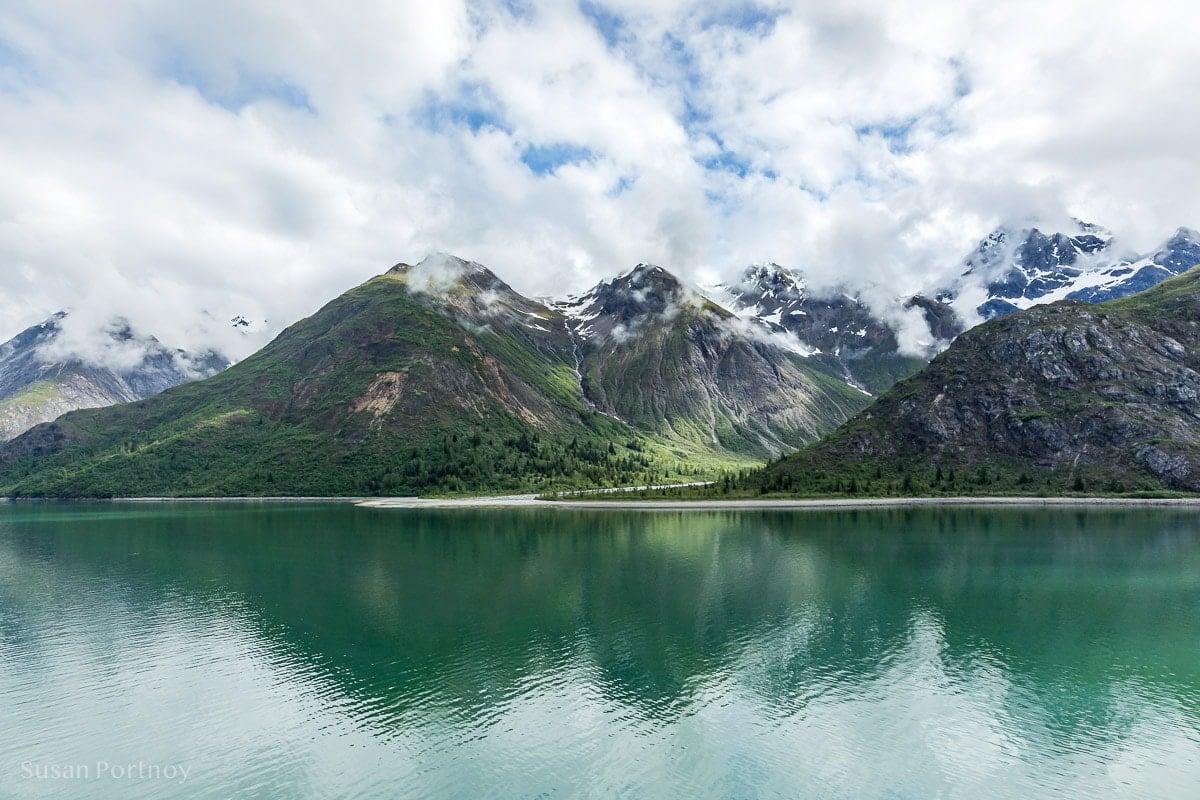 A beautiful landscape view from Glacier Bay- Holland Amercia Alaska Cruise-39302018060501