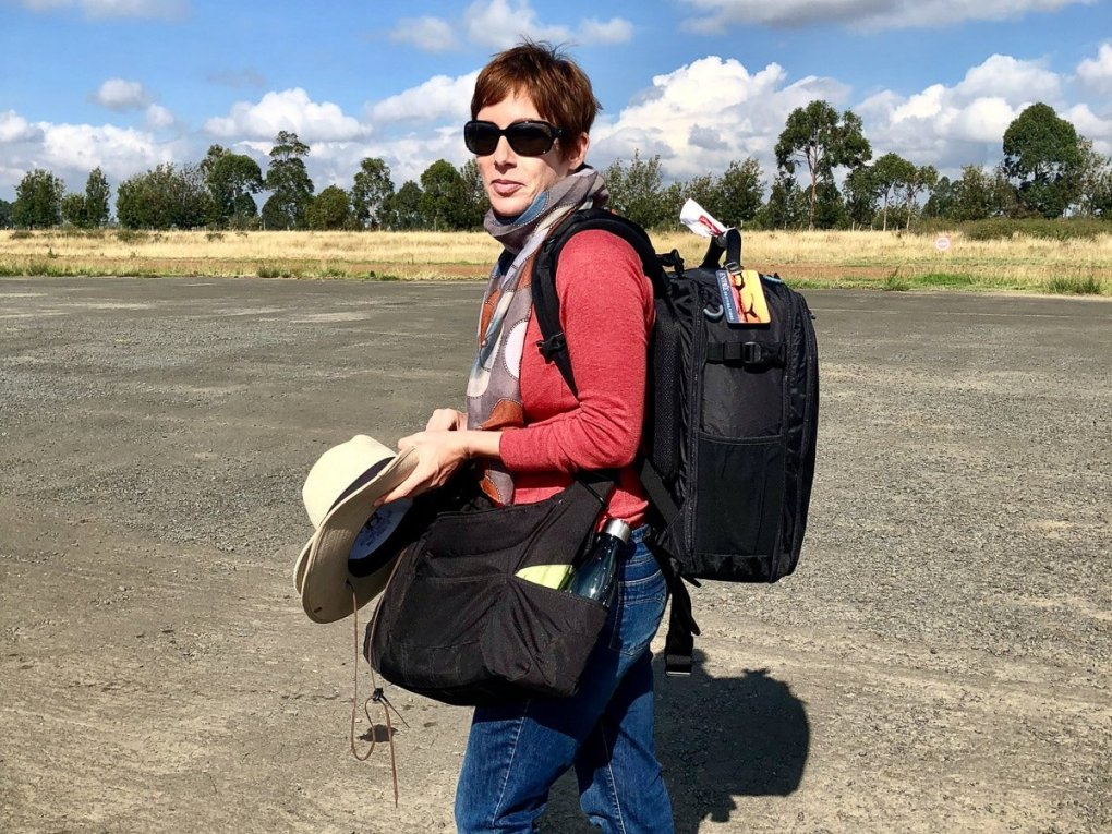 susan portnoy the insatiable traveler - the Gura Gear Kiboko 22L Camera Bag