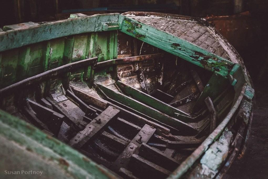 Old boat in Cojimar, Cuba