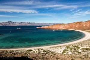 Isla San Franciscquito in the Sea of Cortez Baja Mexico