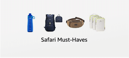 Safari Must-Haves Insatiable Traveler Amazon Shop