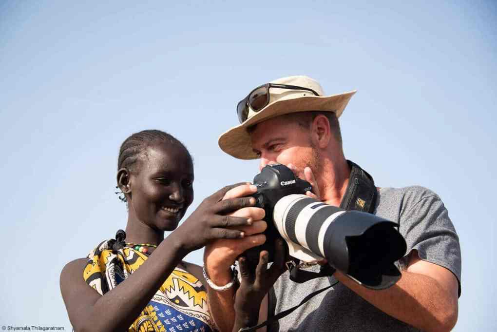 Villager in Kenya