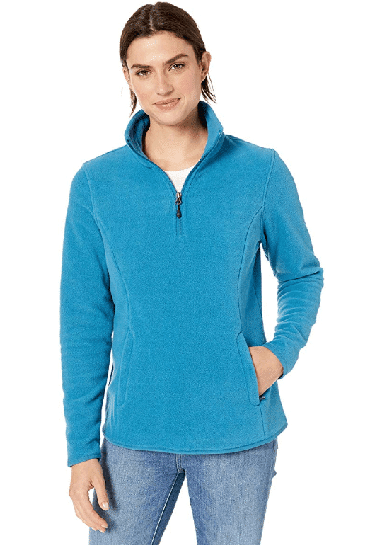 Amazon Essentials Women's Quarter-Zip Polar Fleece Pullover Jacket