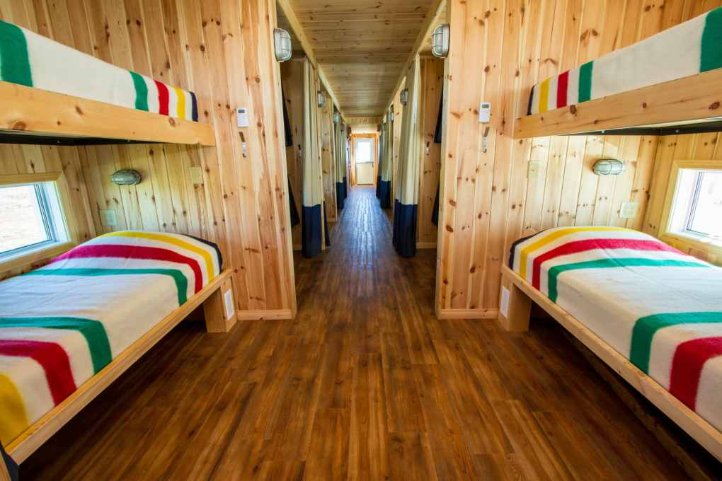 Frontiers-North-Adventures Tundra Buggy Lodge Berths