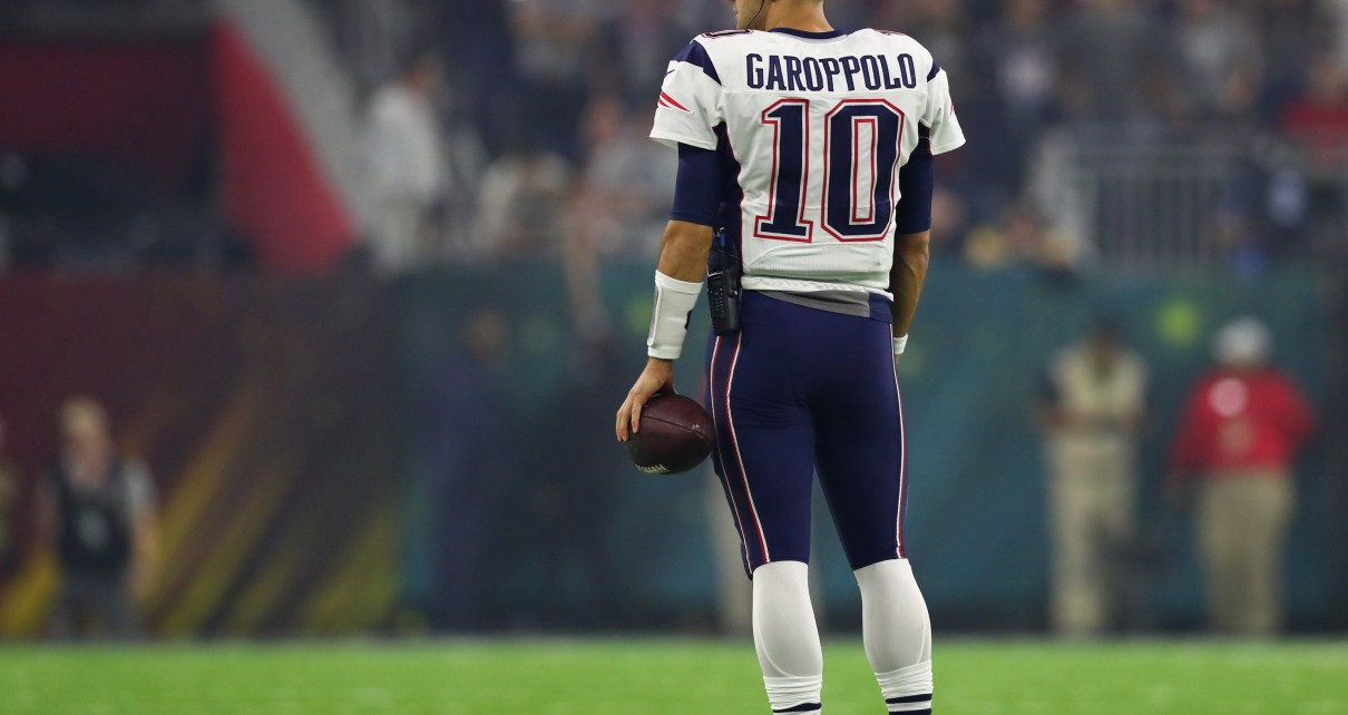 do the Patriots trade Jimmy Garoppolo?