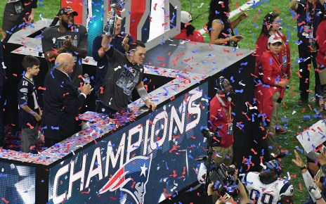 New England Patriots Super Bowl LI Champions