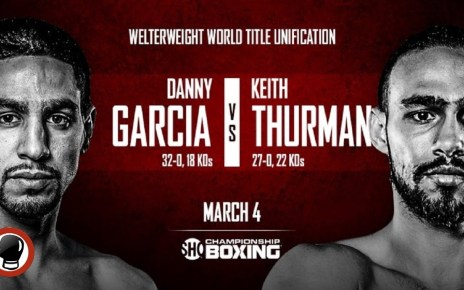 Boxing Garcia vs Thurman