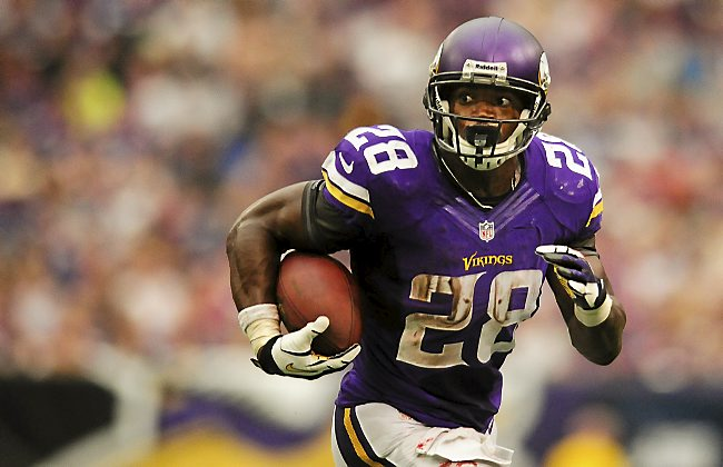 Adrian Peterson New Orleans Saints