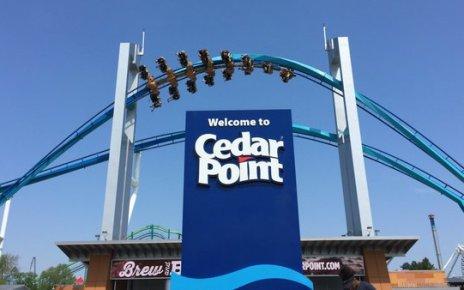 Cedar Point Entrace