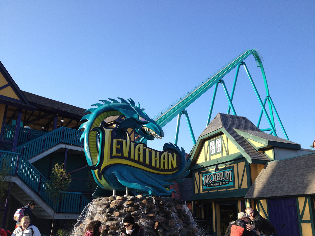 you choose Millennium Force or Leviathan