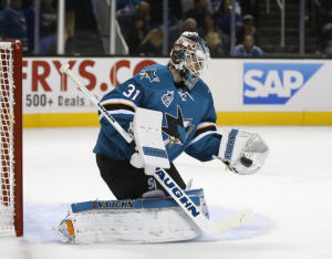 Martin ones San Jose Sharks Goalie