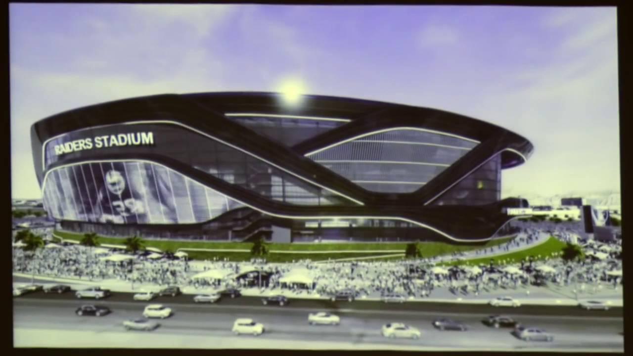 Oakland Raiders building for Las Vegas