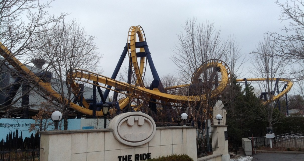 Batman at Six Flags Great America