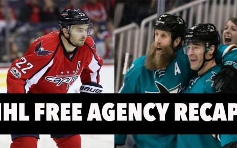 NHL Free Agency Frenzy