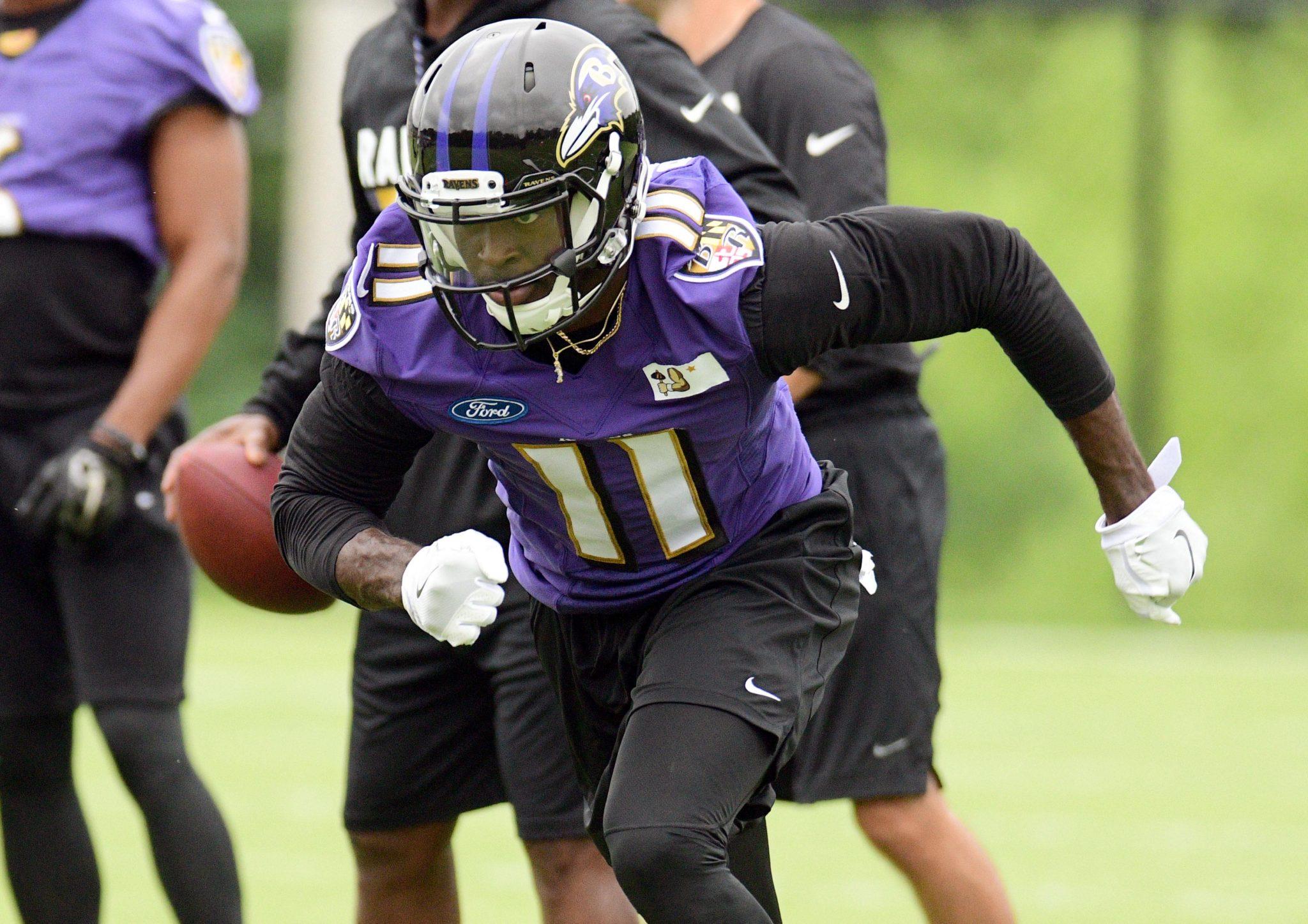 Baltimore Ravens WR Breshad Perriman