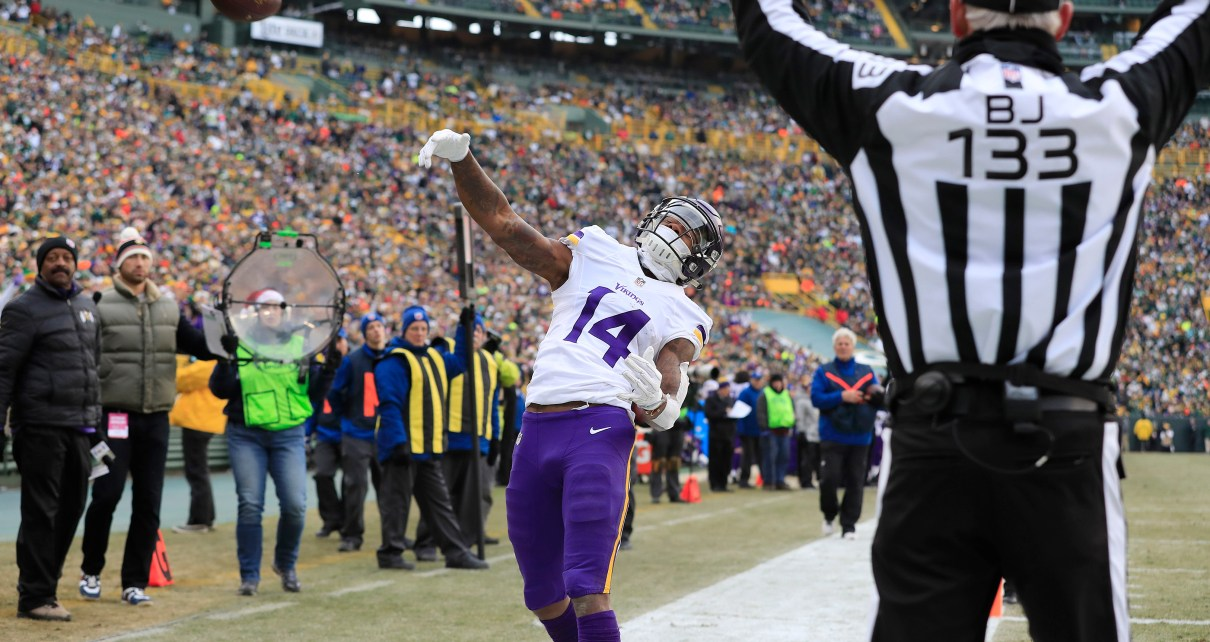 Minnesota Vikings WR Stefon Diggs