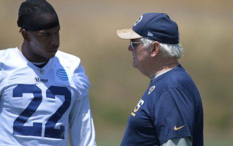 Los Angeles Rams Defensive Coordinator Wade Phillips