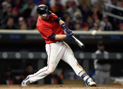 Brian Dozier (Sept. 29, 2017 - Source: Hannah Foslien/Getty Images North America)