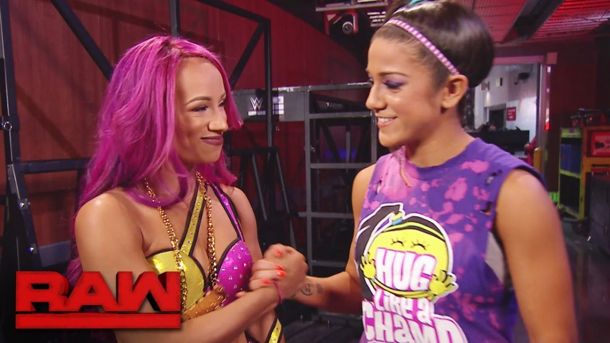 Bayley, Sasha Banks Set For Epic Battle At WrestleMania 34