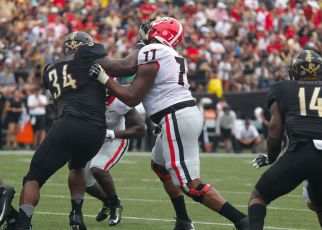 Isaiah Wynn (Saturday, October 7, 2017. Photo/Jane Snyder, www.janemarysnyder.com)