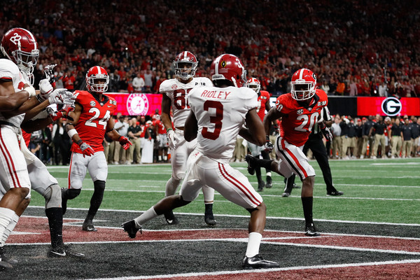 Calvin Ridley (January 8th, 2018 Source: Jamie Squire/ Getty Images North America)