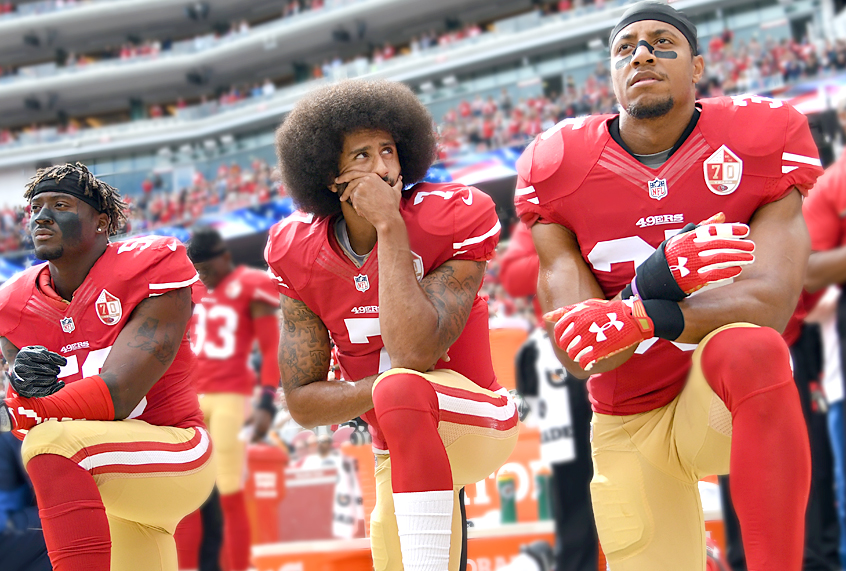 NFL: Colin Kaepernick and Eric Reid Remain Unsigned. A Look At The Five Hypocritical Arguments Behind It.