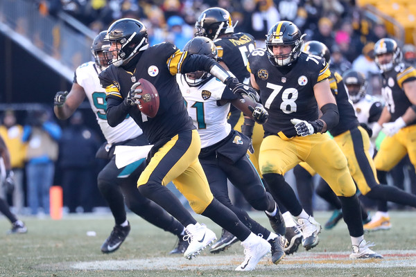 Ben Roethlisberger (Jan. 14, 2018 - Source: Rob Carr/Getty Images North America)