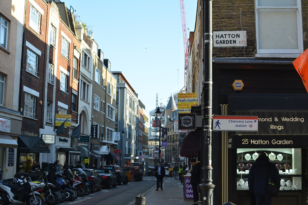 Things to do at Hatton Garden