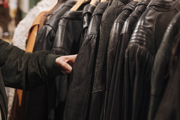 buying a premium leather jacket