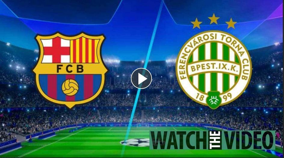 Barcelona vs Ferencvaros live