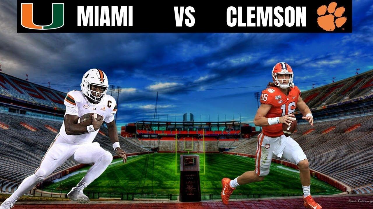 Clemson vs Miami FL