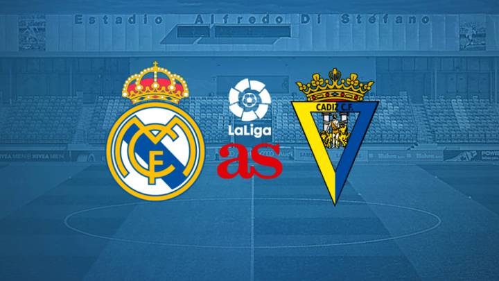 Real Madrid vs Cádiz