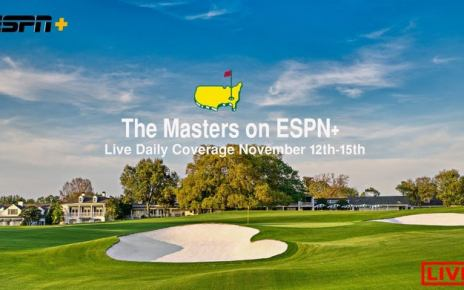 2020 Masters GOLF Tournament