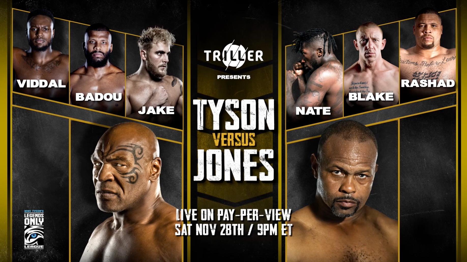 Mike Tyson vs. Roy Jones Jr.