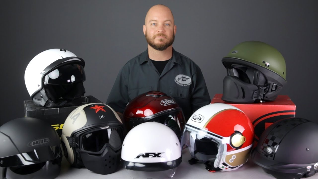 6 Things to Look Out for When Buying a Cruiser Motorcycle Helmets