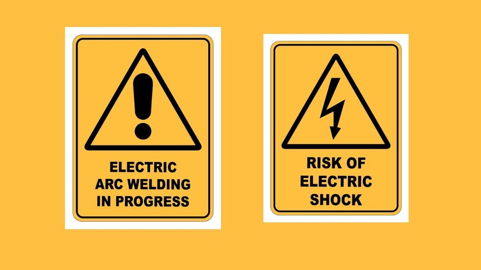 Different Types of Hazard Warning Signs