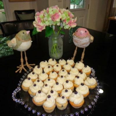 MY FAVORITE LEMON BLUEBERRY CAKE/OR CUPCAKES