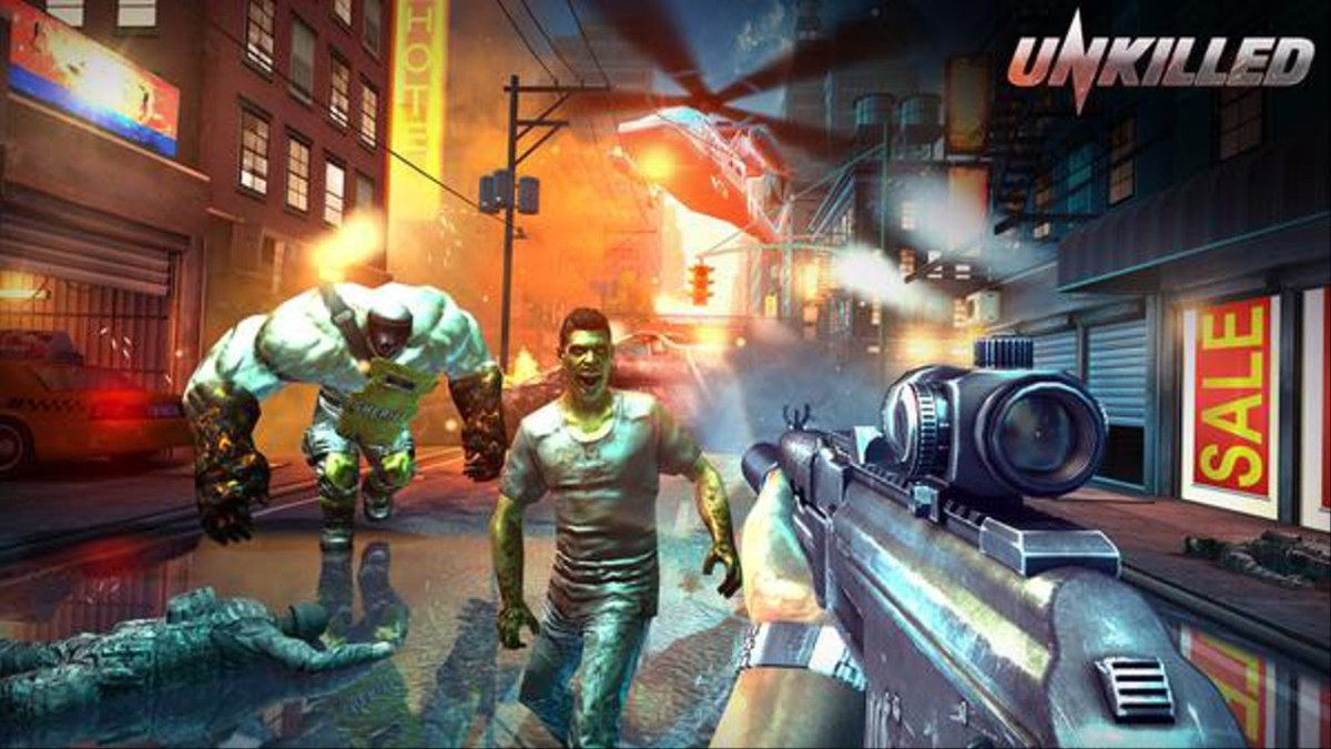 Unkilled Offline Shooting Games for Android
