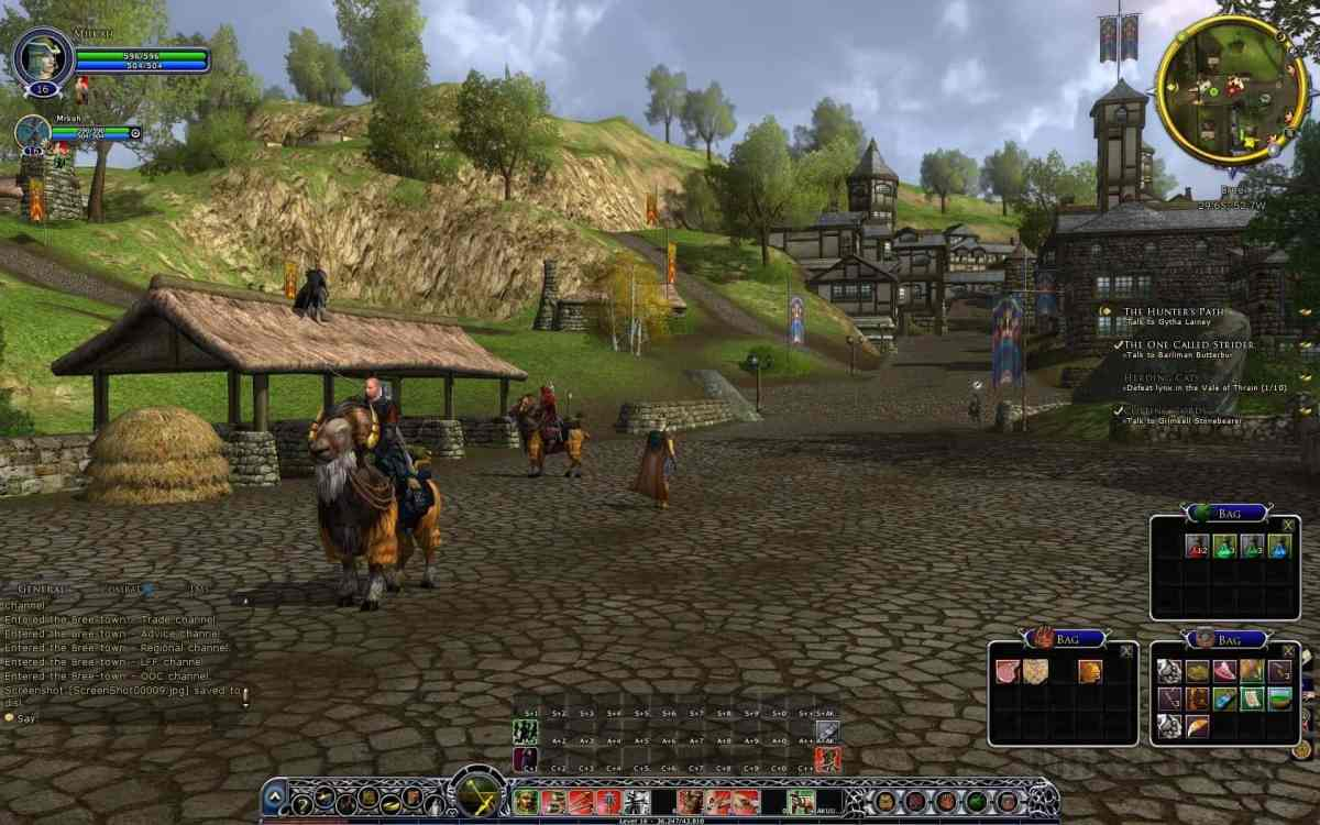 Lord of the Rings Online Free MMORPGs