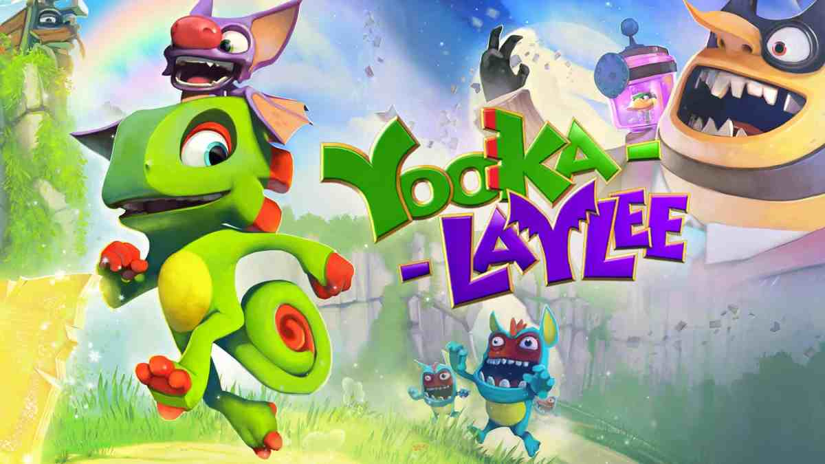 Yooka Laylee PS4 Games for Kids
