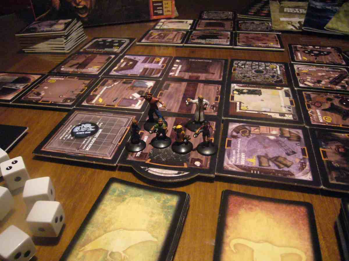Betrayal at House on the Hill Board Games